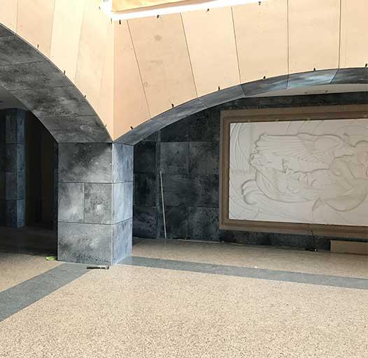 Construcción y dirección de Arte La Casa de Papel