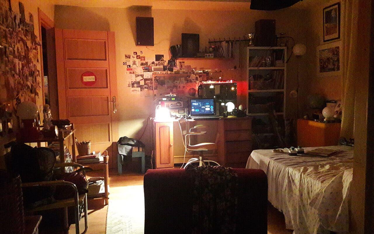 habitación casa Laura estoy vivo